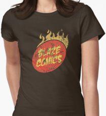 Blaze Comics Womens Fitted T-Shirt