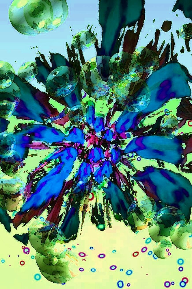 Blue Tuesday 2 by Gazzah