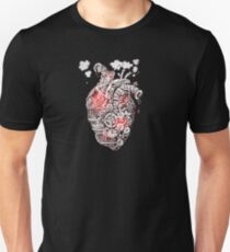 Steam Punk Heart Ticker T-Shirt
