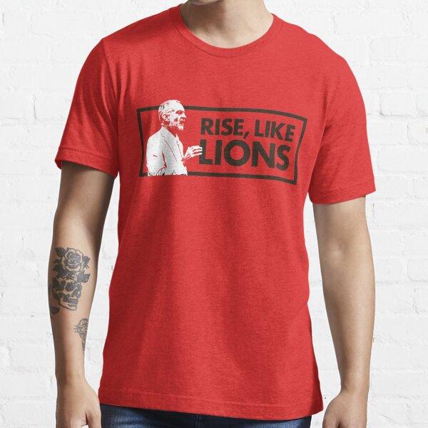 Jeremy Corbyn Rise, Like Lions Essential T-Shirt