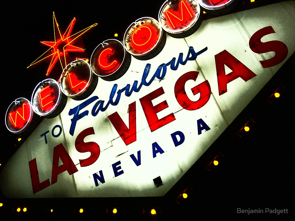 Vegas Sign No. 3 by Benjamin Padgett