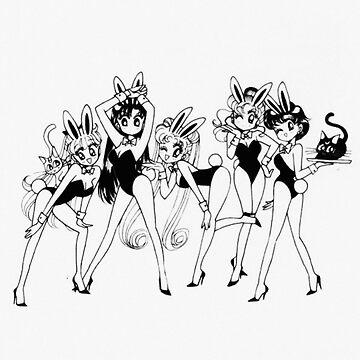 Sailor Moon Magical Girls by arealprincess
