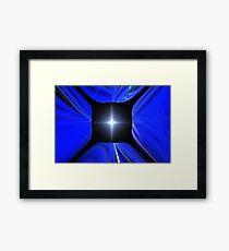 Blue Star Sky Framed Print