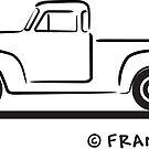 1951 Chevrolet Pickup Truck by Frank Schuster