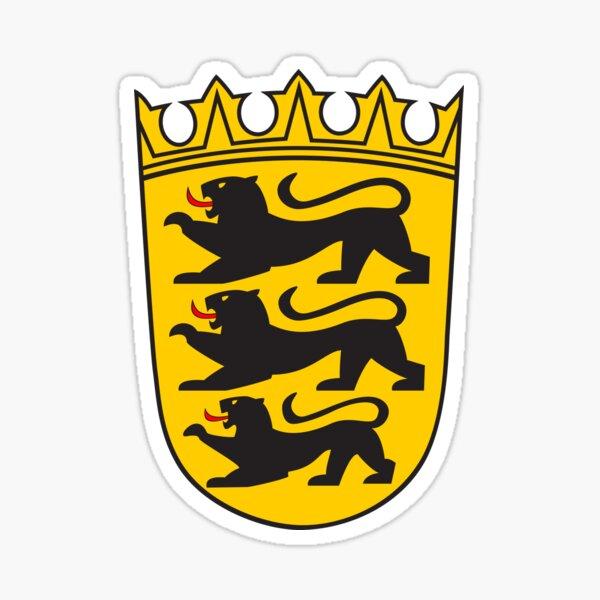 Baden-Württemberg Wappen (kleiner) Sticker