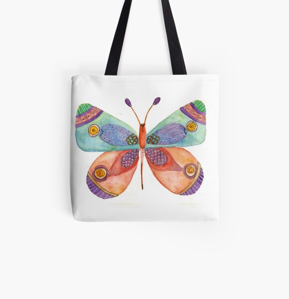 Butterfly 1 All Over Print Tote Bag
