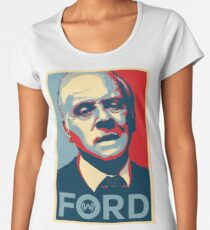 Dr Ford Obey Hope Women's Premium T-Shirt