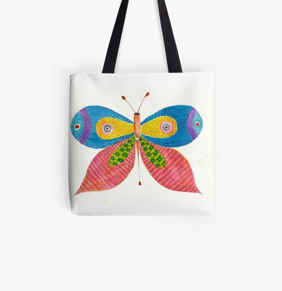 Butterfly 2 All Over Print Tote Bag