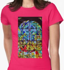 Stained glass  4. Womens Fitted T-Shirt