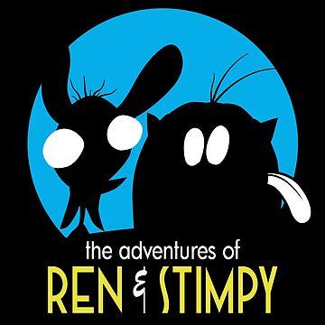 The Adventures Of Ren & Stimpy by MakeWayGFX