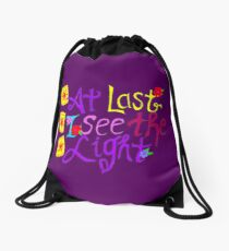 See the Light Lanterns Drawstring Bag