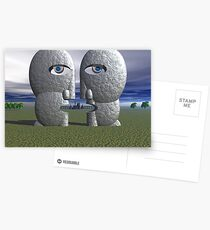 Division Bell Tribute Postcards