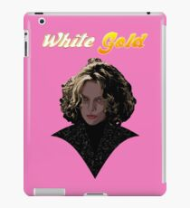 White Gold iPad Case/Skin
