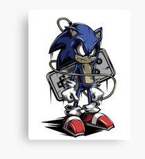 The Hedgehog Sonic Canvas Print