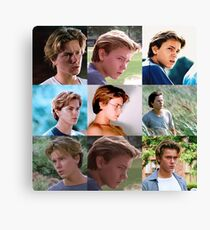 Danny Pope / River Phoenix Collage Canvas Print