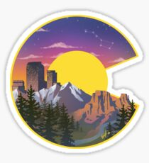 Colorado Sights Sticker