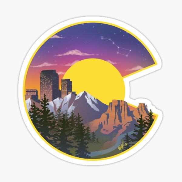 Colorado Sights Sticker