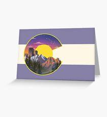 Colorado Sights Greeting Card