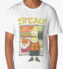 Stealy - Rick & Morty Design Long T-Shirt
