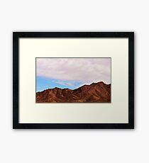 Beautiful Mountain  Framed Print