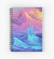 Pastel Mountains Spiral Notebook