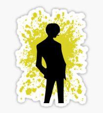 Sanji Paint Splatter Anime Inspired Shirt Sticker