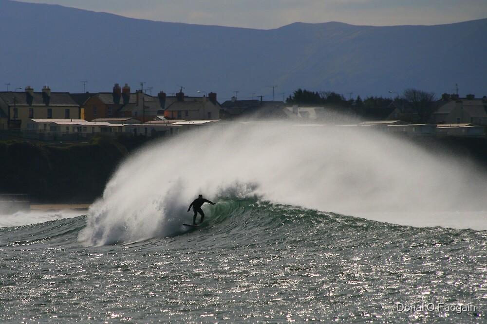 Bundoran surf by Donal Faogain