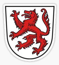 Passau coat of arms Sticker