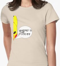 Where's The Food!? Womens Fitted T-Shirt