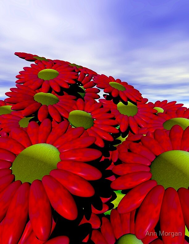 Welcoming Spring by Ann Morgan