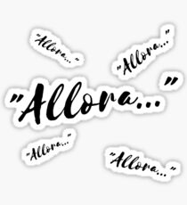 """Allora..."" (""Well..."") Sticker"