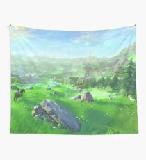 Breath Of The Wild - Field Wall Tapestry
