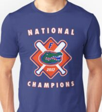 2017 GATOR BASEBALL CHAMPS T-Shirt