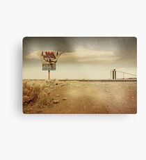 Give me a sign... Metal Print