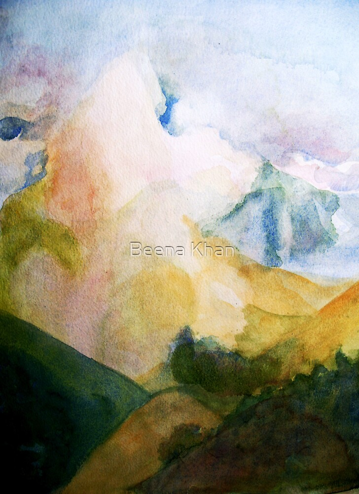 Skyscape by Beena Khan