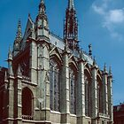 St Chapelle Paris 19840818 0006  by Fred Mitchell