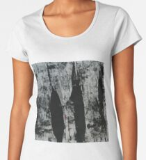 black lines Women's Premium T-Shirt