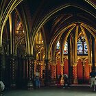 Lower Chapel St Chapelle Paris 19840818 0007 by Fred Mitchell