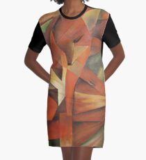 Foxes - Homage to Franz Marc (1913)     Graphic T-Shirt Dress