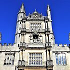 Center Tower - Bodleian Library, Oxford by Lesliebc