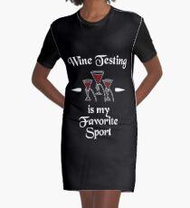 Wine Testing Is My Superpower Shirt Graphic T-Shirt Dress