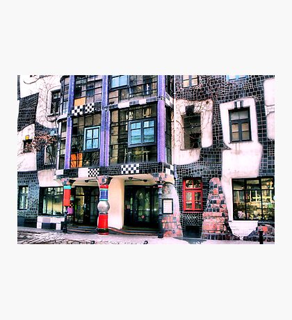 Hundertwasser Museum Photographic Print