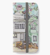 San Francisco Houses #3 iPhone Wallet/Case/Skin