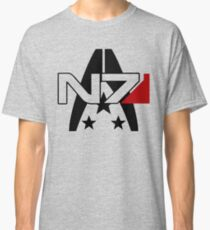 Mass Effect N7 Alliance Tee Classic T-Shirt