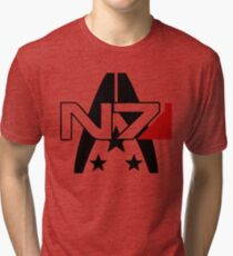 Mass Effect N7 Alliance Tee Tri-blend T-Shirt