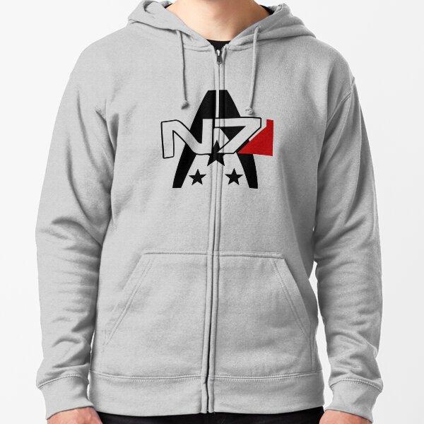 T-shirt Alliance Mass Effect N7 Veste zippée à capuche