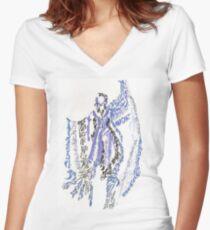 Jonrech Women's Fitted V-Neck T-Shirt