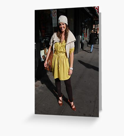 Commercial rd fashion Greeting Card