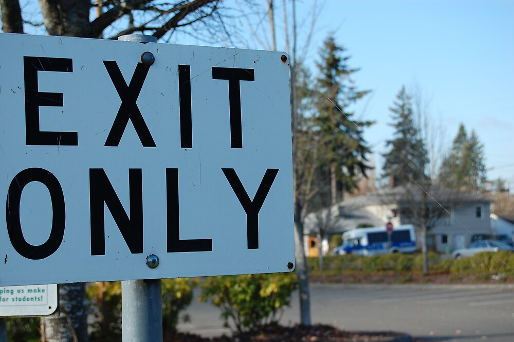 Exit Only by Natalia DiStefano-Hural