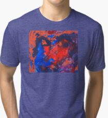 Abstract Colors 4 Tri-blend T-Shirt